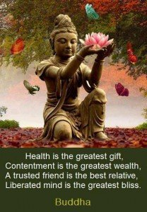 """""""Health is the greatest gift, contentment - 27.6KB"""