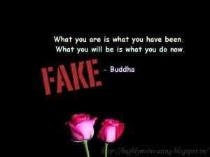 What you are is what you have been