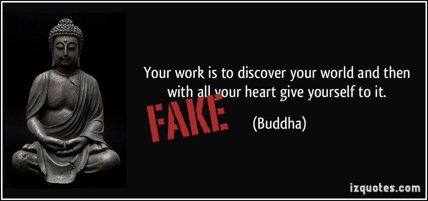 Your work is to discover your world and then with all your