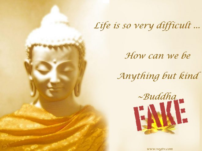 Life Is So Hard How Can We Be Anything But Kind Fake Buddha Quotes